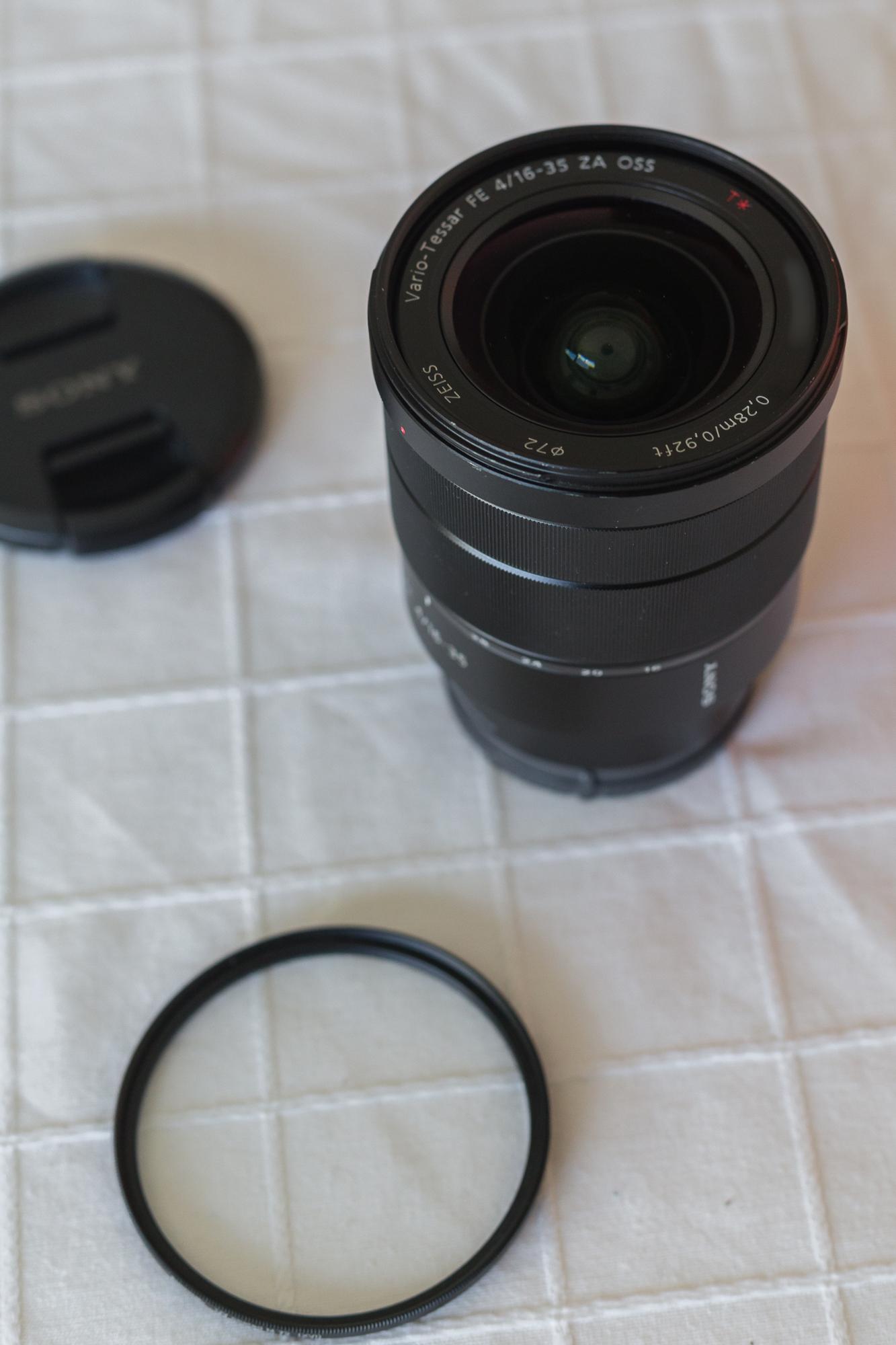 VENDO - Sony Zeiss 16-35mm F/4 + Filtro UV en Camaras y Objetivos271020-sony-16-35-11796-1